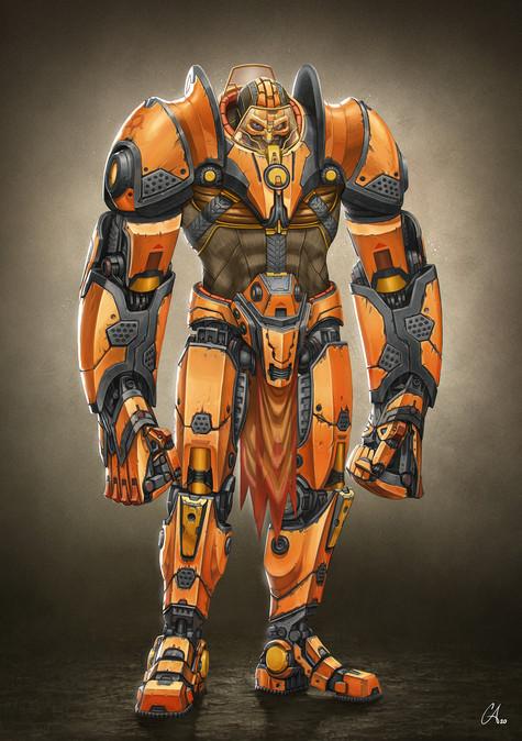 URFC - Goliath - Character Design