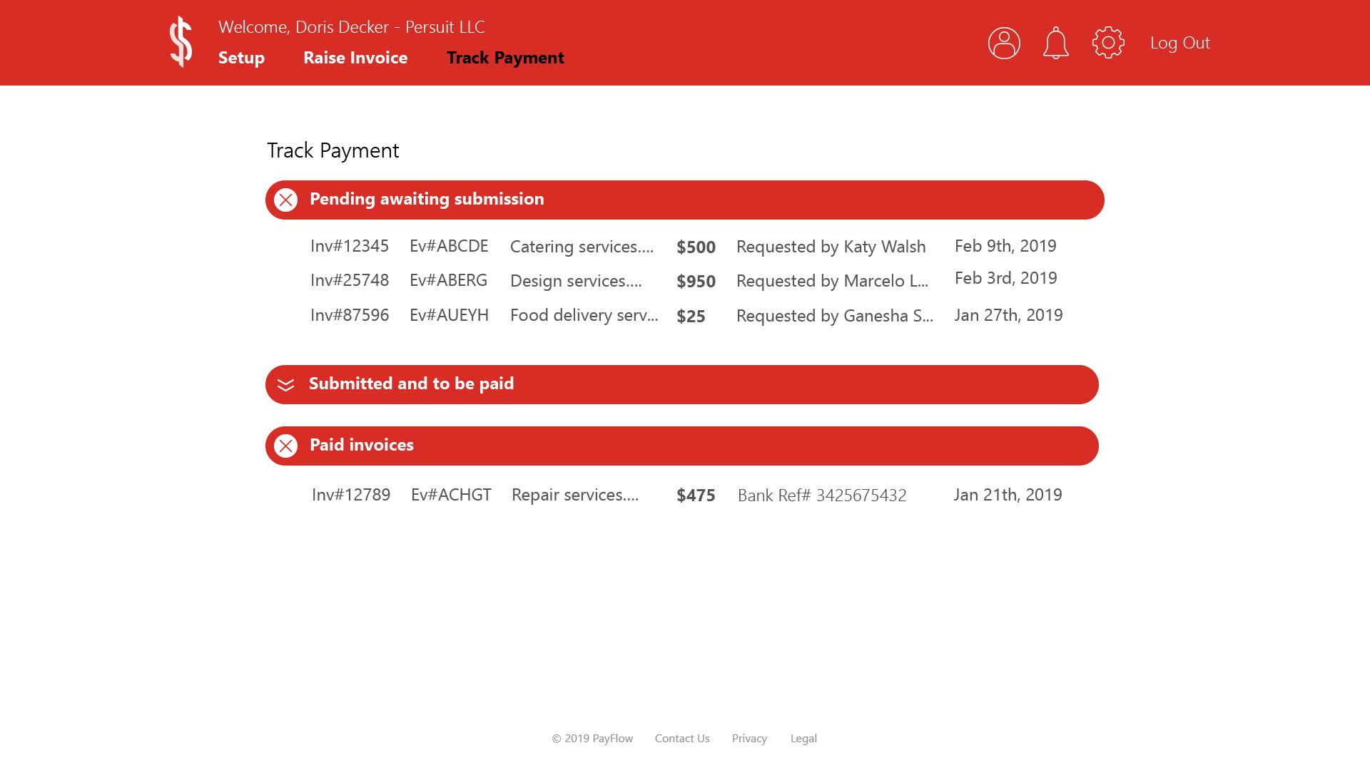 Vendor_TrackPayment