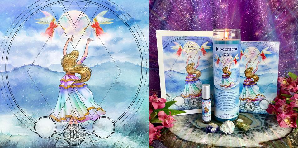 Tarot Cards - Judgement XX Set