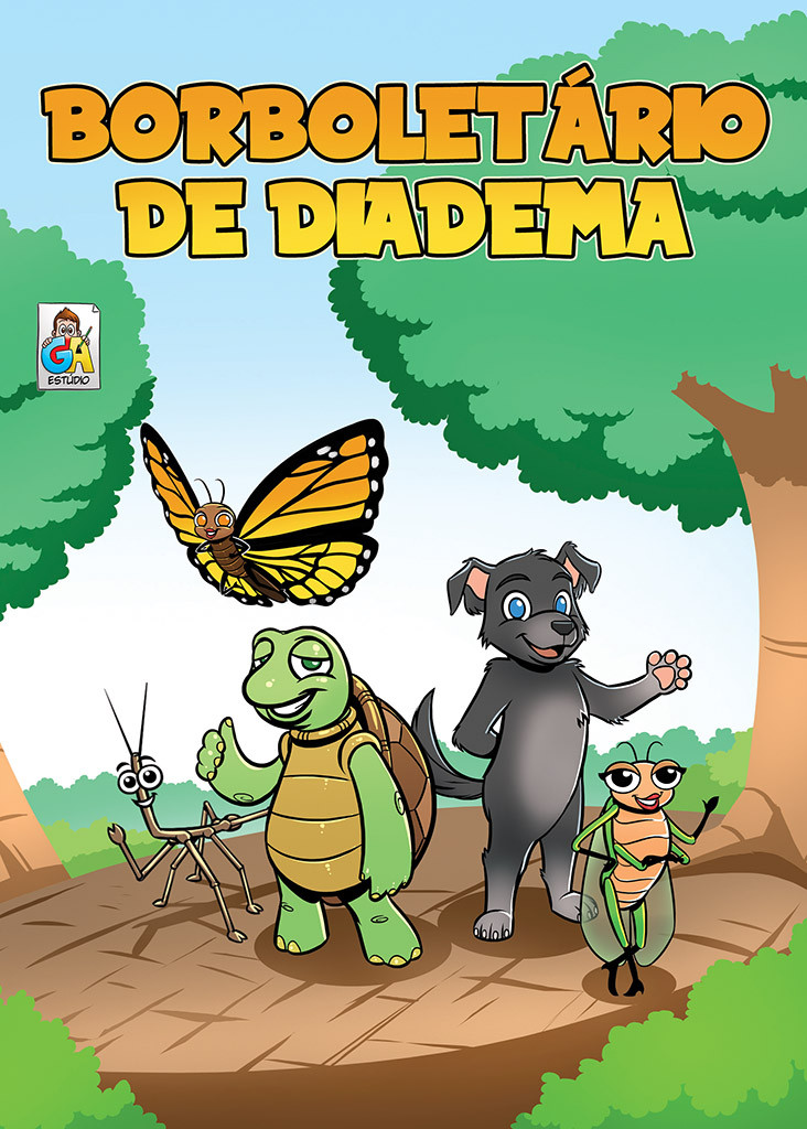 Diadema's Butterfly House - Cover
