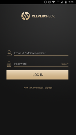 Clevercheck HP - Login