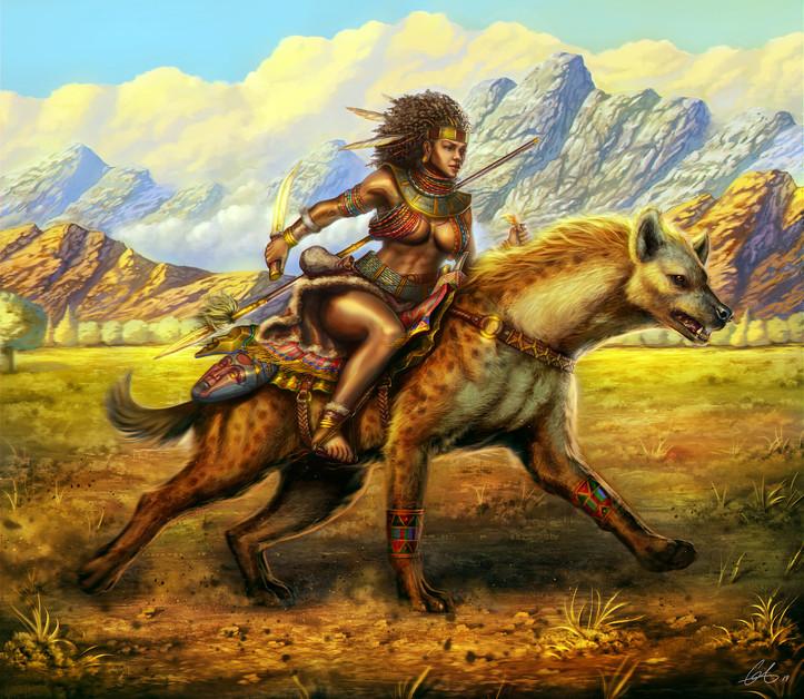 Hyena Warrior