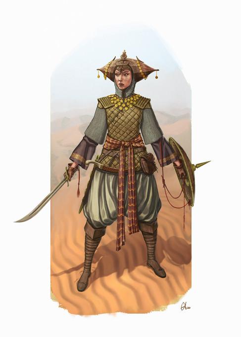 Persian Hero - Character Design