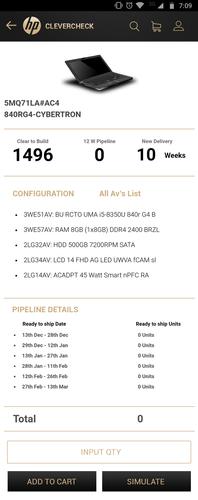 Clevercheck HP - Item Detail Page