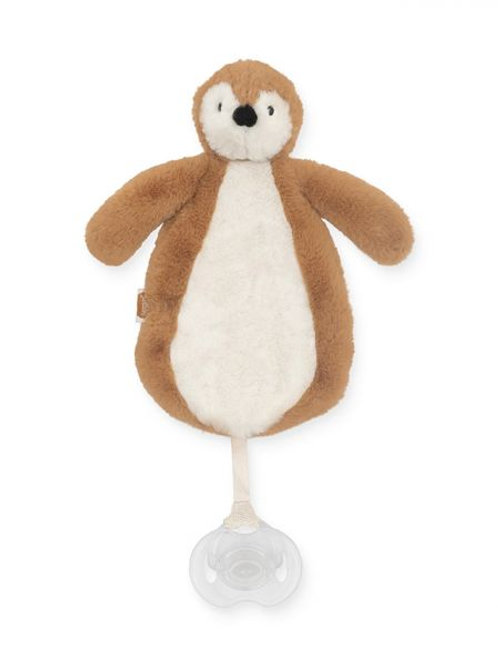 speendoekje pinguïn camel Jollein