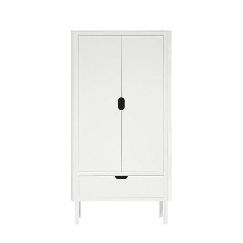 2-deurs Kleding kast Sebra wit
