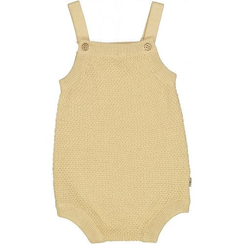 knit romper vilde soft beige Wheat