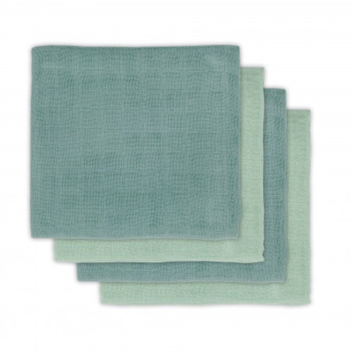 Bamboe hydrofiel doeken green 70cm x 70cm Jollein