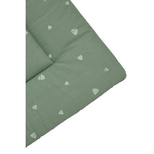 meyco boxkleed sweet triangle forest green
