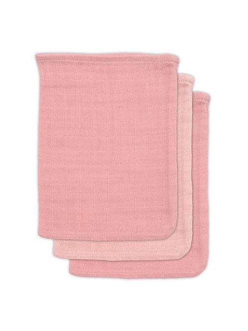 Bamboe washandjes roze Jollein