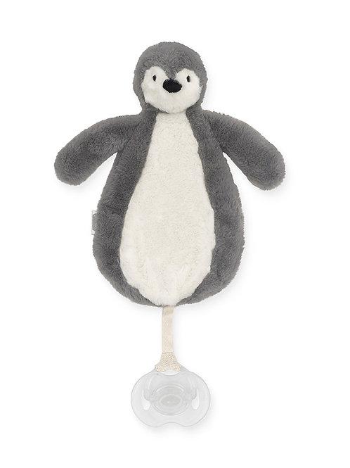 speendoekje pinguïn grijs Jollein