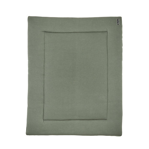 meyco boxkleed basic knit forest green
