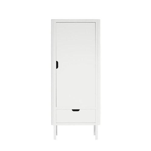 1-deurs kledingkast Sebra wit