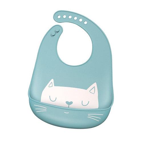 silicone slab kitty catblue