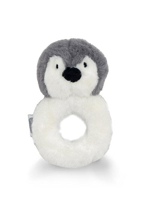 rammelaar pinguïn grijs