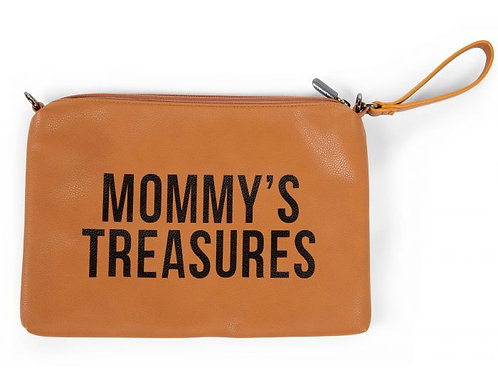 Mommy clutch leather