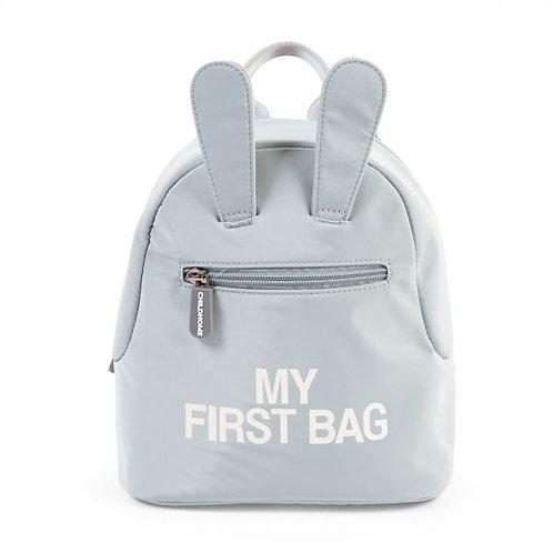 My  first bag blauw grijs
