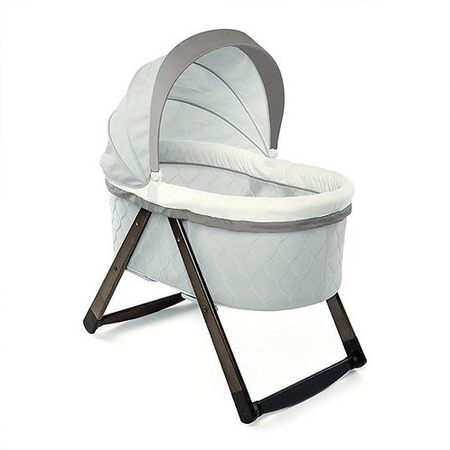 foldaway rocking wood bassinet carrington