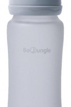 Bo jungle coating glazen fles grijs 300 ml
