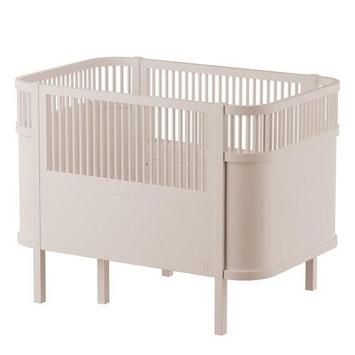 Sebra baby & junior bed birchbark beige