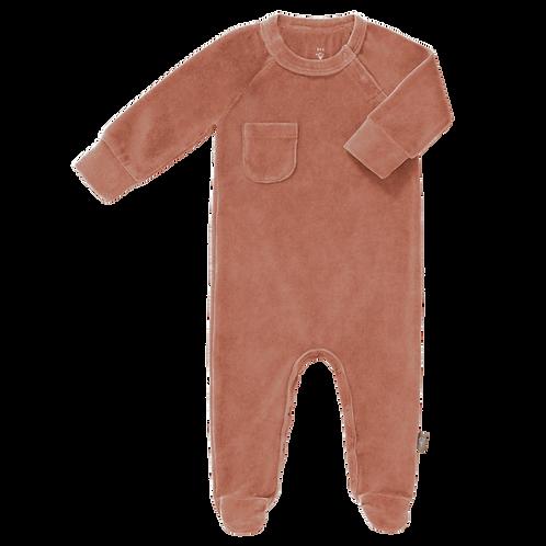 velours pyjama ash rose Fresk