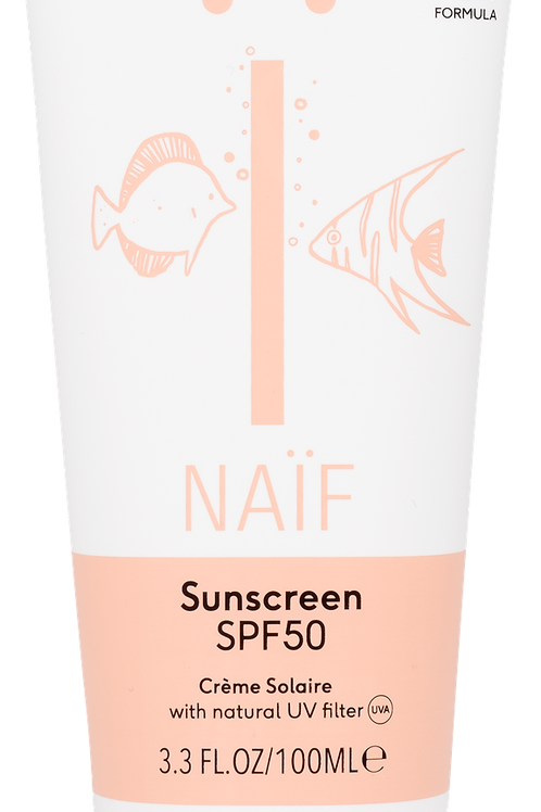 NAÏF suncream