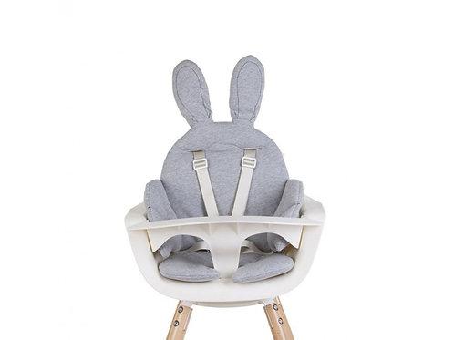 stoelkussen konijn childhome grijs