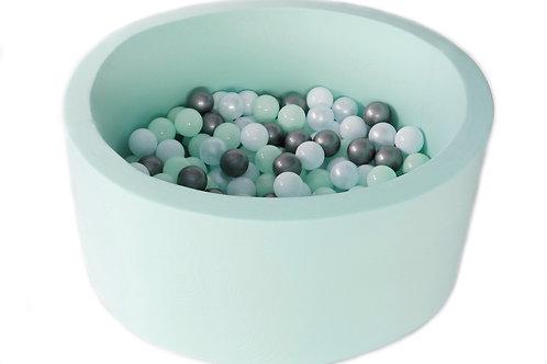 Ballenbad mint + 200 ballen naar keuzen