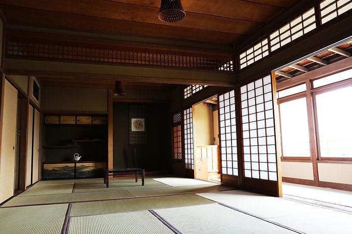 陽のあたる和室