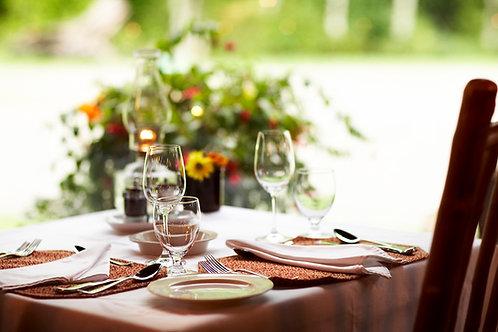 """72"""" Rectangular Tablecloth"""