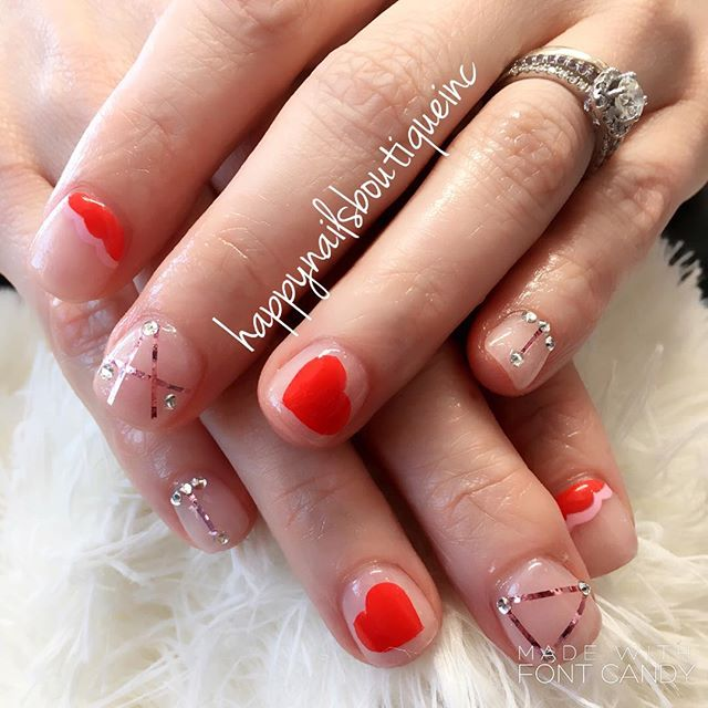 #love is all we need!❤️ #dippowder #dippowdernails #nailsmagazine #naildesigns #nails #nailart #nail