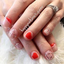 #love is all we need!❤️ #dippowder #dippowdernails #nailsmagazine #naildesigns #nails #nailart #nail