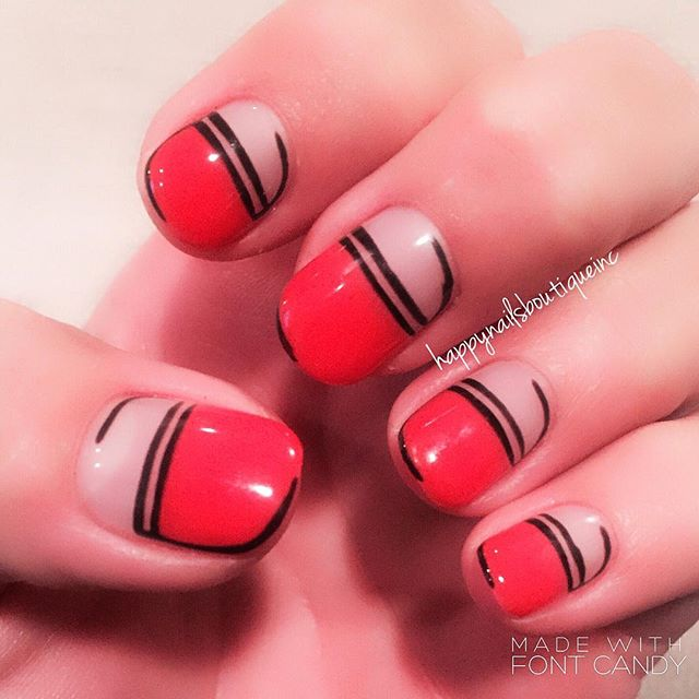 Thank you _sohotrightnail for the inspiration! You're works are always amazing! #nails #nail #nailar