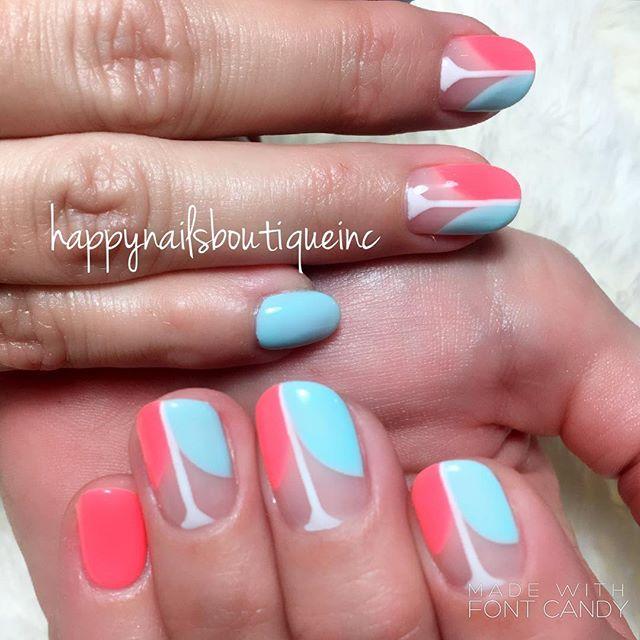 #HNB#312food #naturalnailsgoal #nail #nailsmag #nailpro #love #Chicago #handpainted #freehanddesign