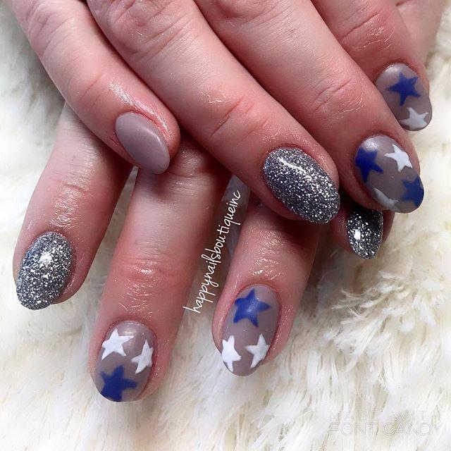 #matte and #shiny #notd #nail #nails #nailart #naildesign #french #chicago #chitown #nailsalon #HNB