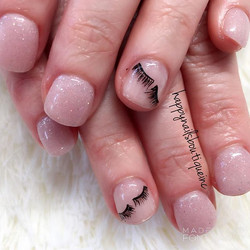 When #lashes are life, you put them on your #nails.jpg