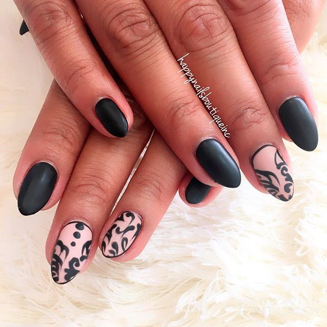 #matte #shiny #notd #nail #nails #nailart #naildesign #french #chicago #chitown #nailsalon #HNB #nai