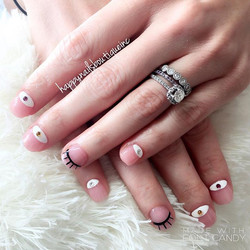 #nails #nailart #naildesign #evileye #lashes #chitown #312 #chicago #lakeview #nailsofinstagram #nai