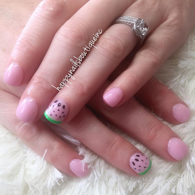 Happy #nationalwatermelonday #chicago #HNB #312food #312 #lakeview #chitown #chicagonails #nails #na