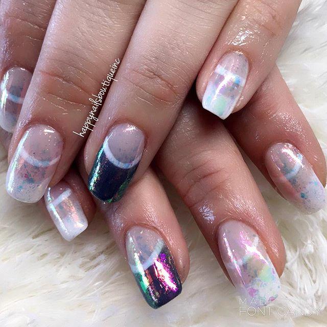 #notd #nail #nails #nailart #naildesign #french #chicago #chitown #nailsalon #HNB #nailsonfleek #nai