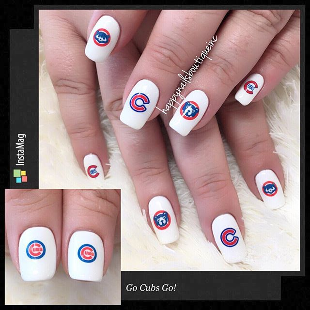 Go #Cubs Go! #baseball #postseason #chicago #chicagocubs #nochip #decals #stickers #numberonefan #na