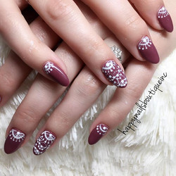 It's all in the details! #nailart #nailsgame #notd #nailsmag #312food #beauty #lakeview #chic #chica