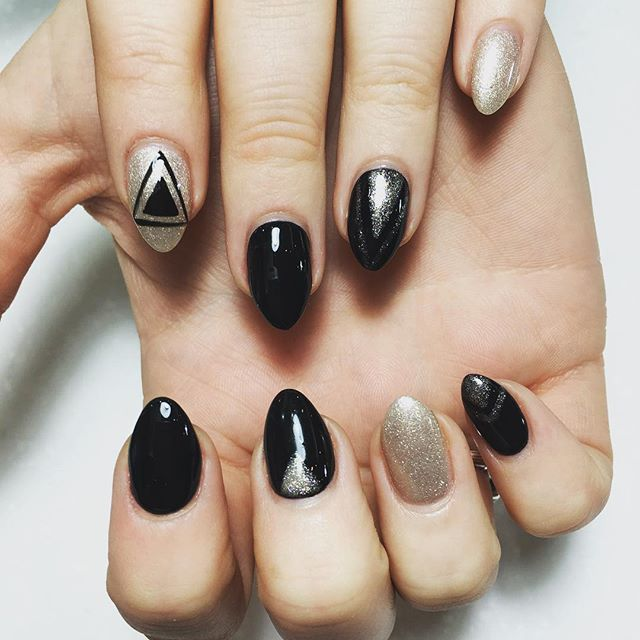 A little #nailart for tonight cold weather.jpg