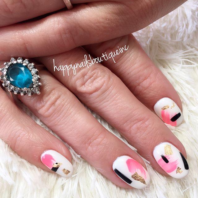 Random #artpop _julieziegenhorn #nails #nailart #naildesign #nailsmagazine #nailsonfleek #nailstagra