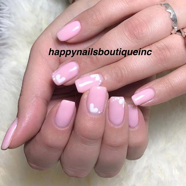 #throwback to sweet #valentine❤️ #HNB #nailart #nails #nail #handpainted #love #nailsalon #Chicago #