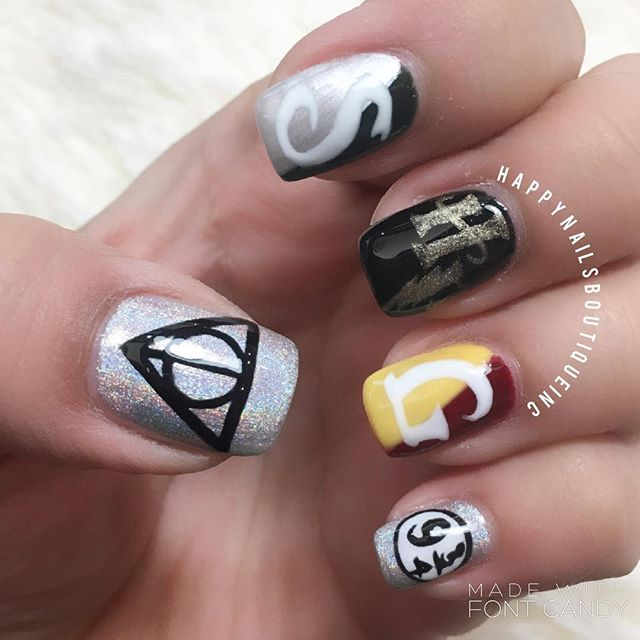 #HNB #HarryPotter #harrypotternails #HarryPotterWorld #nail #vacationnails #vacation #vaca #Florida