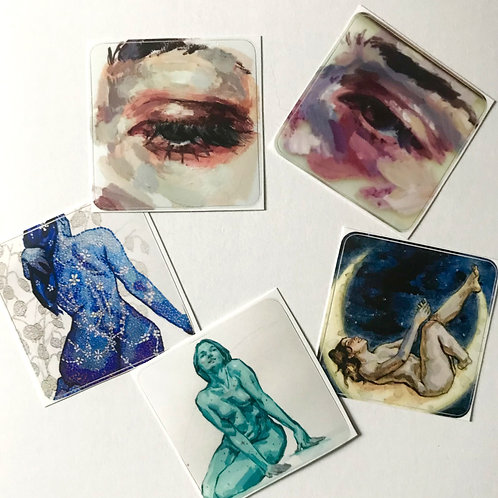 3 Stickers (Assorted)
