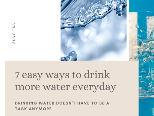 7 EASY WAYS TO DRINK MORE WATER EVERY DAY