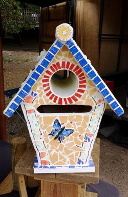 Cottage Letterbox - Mosaiced