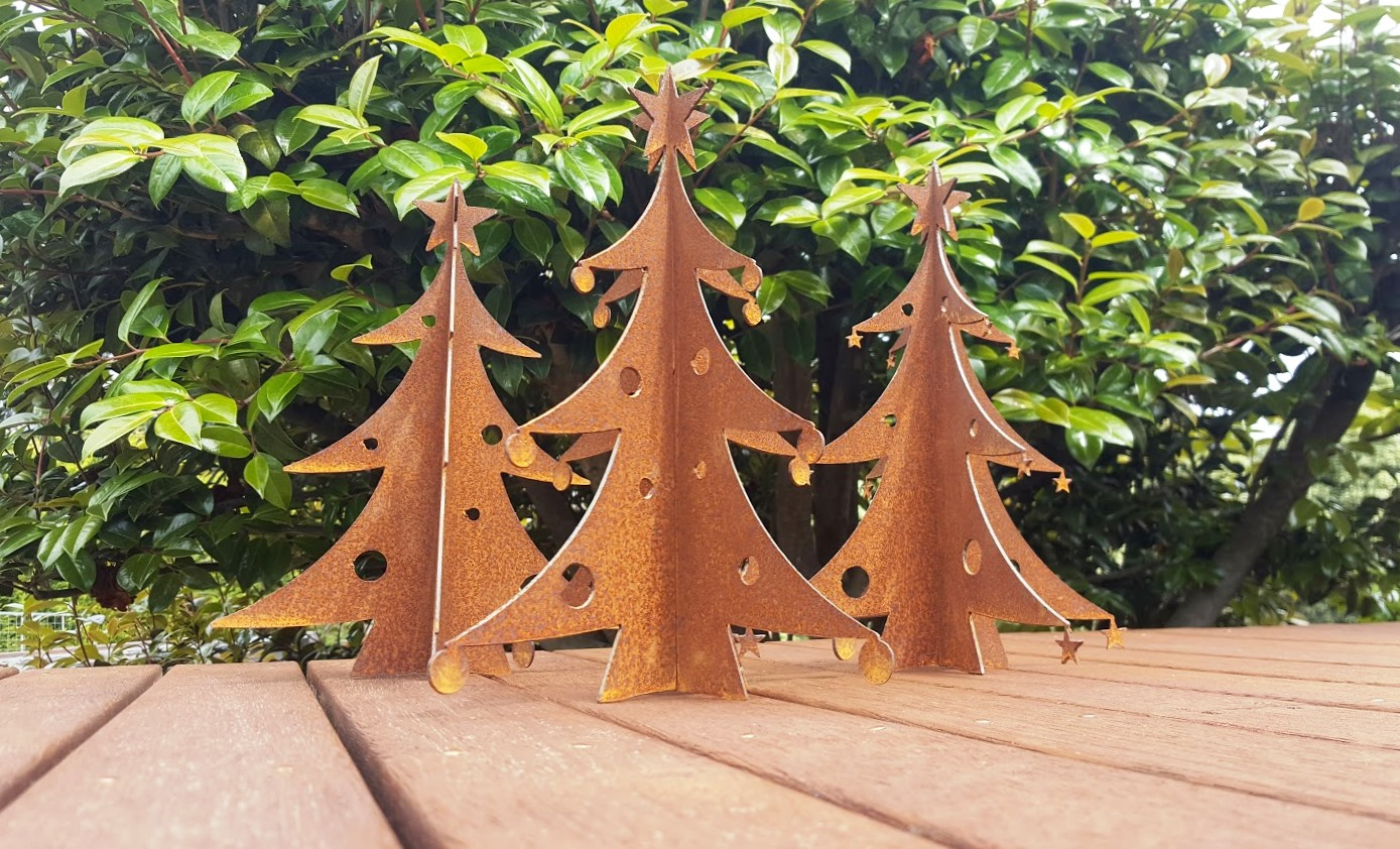 Rusty Christmas Trees